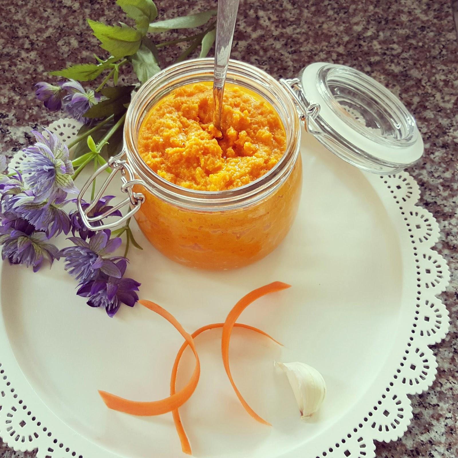 wortel hummus