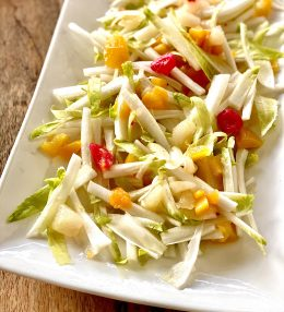 Simpele witlof salade
