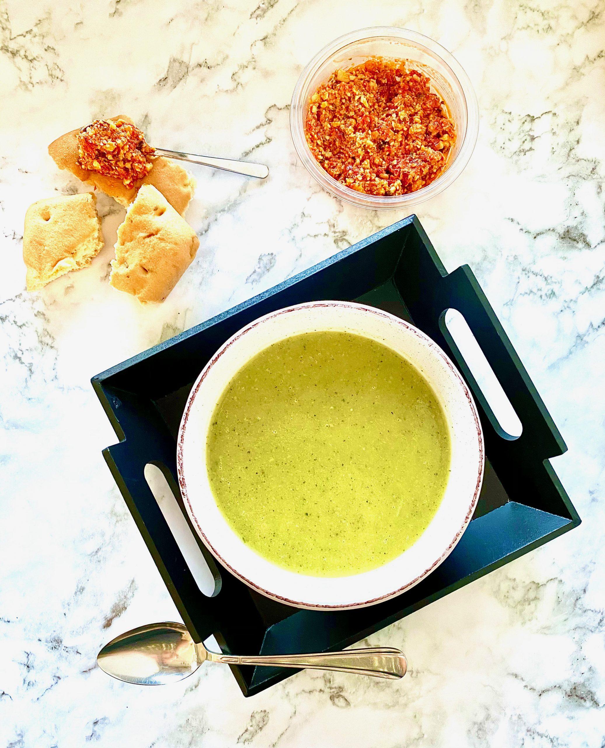 restjes soep