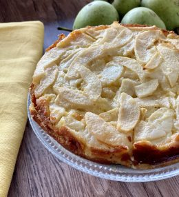 Peren Custard Cake