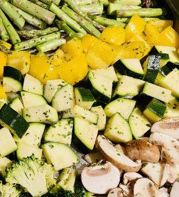 Lekkere geroosterde groenten
